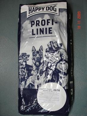 HAPPY DOG  PROFILINE 26/16  SAC DE 20 KGS