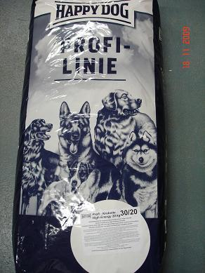 HAPPY DOG  PROFILINE 30/20  SAC DE 20 KGS