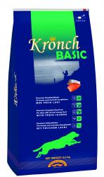 4 SACS CROQUETTE SAUMON KRONCH BASIC 13.5 KGS     PORT OFFERT