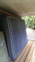 24 grilles de chenil dont 2 avec portes dans materiel d 0ccasion bruche nature. Black Bedroom Furniture Sets. Home Design Ideas