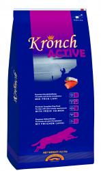 4 SACS CROQUETTE SAUMON KRONCH ACTIVE  13.5 KGS     PORT OFFERT